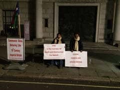 Baloch Activists Begin Protest Outside Chinese Embassy In London