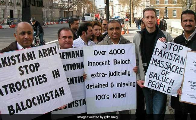 Balochistan Activists Seek India's Help Against Pakistan's Human Rights Abuses