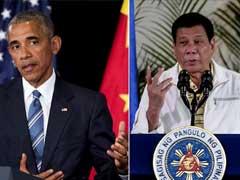 'अपशब्द प्रकरण' के बाद बराक ओबामा और रोड्रिगो डुटर्टे के बीच हुई संक्षिप्त मुलाकात