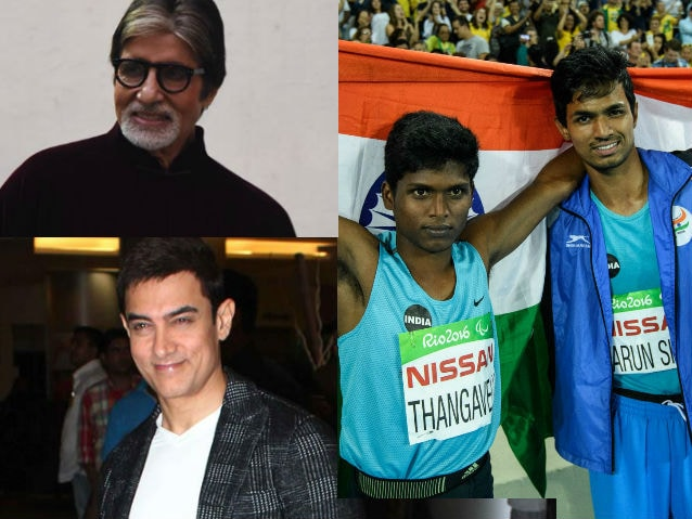 Big B, Aamir, Anushka Congratulate India's Paralympics Gold, Bronze Win On Twitter