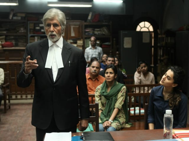 Amitabh Bachchan's Pink Gets 5 Star Reviews From Celebs