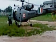Air Force Rescues 24 Construction Workers Stranded In Telangana Floods