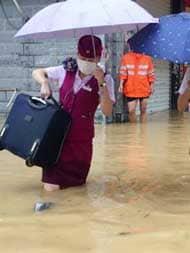 चीन में हुए भूस्खलन में करीब 100 लोगों के मलबे में दबने की आशंका : सरकारी मीडिया