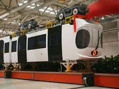 China Rolls Out Its First Sky Train