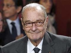 France Ex-President Jacques Chirac Hospitalised With Lung Infection: Family
