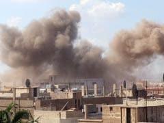 'सीरियाई सेना के शिविर पर हवाई हमला, 30 सैनिकों की मौत'