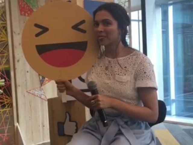 10 Things Deepika Padukone Revealed About Herself Live on Facebook