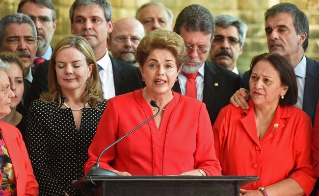 Rousseff Ousted As President Of A Sharply Divided Brazil