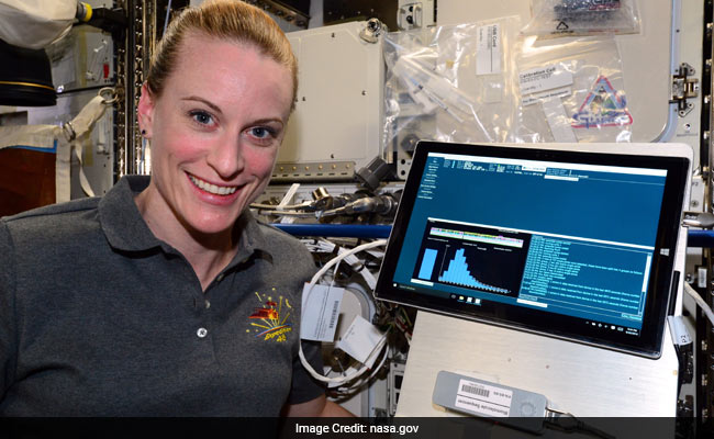 For First Time, NASA Scientist Sequences DNA In Space