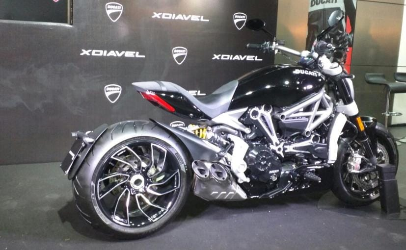 ducati xdiavel launched in india; price starts at rs. 15.87 lakh