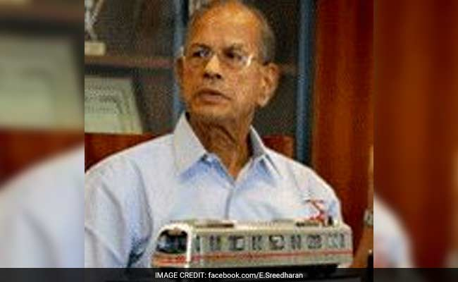 Quality Of Engineers Very Sub-Standard In India: E Sreedharan