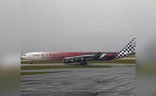 Etihad Airways Aircraft's Tyre Bursts At Mumbai Airport