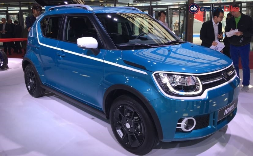 paris motor show 2016 suzuki ignis makes its european debut ndtv carandbike. Black Bedroom Furniture Sets. Home Design Ideas