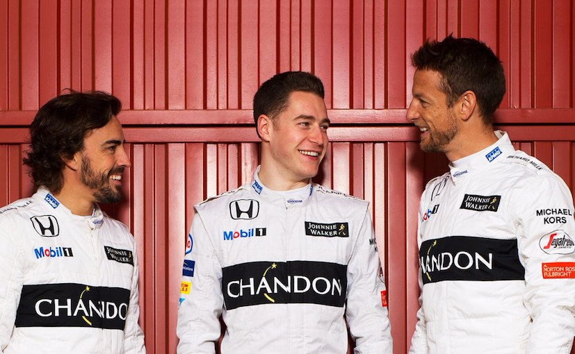 Fernando Alonso Stoffel Vandoorne Jenson Button
