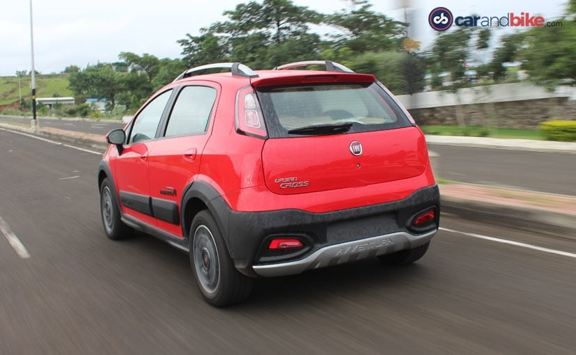 Fiat Avventura Urban Cross Abarth Rear