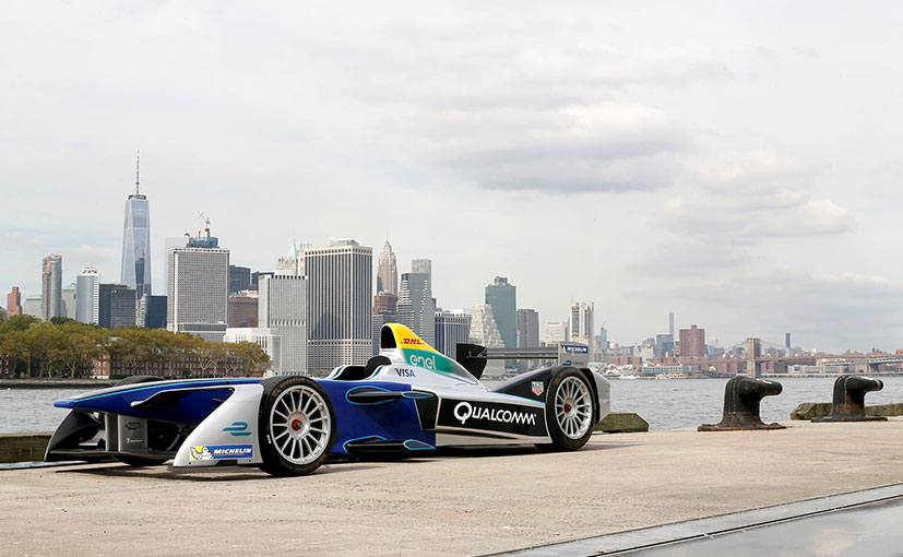Formula E Race Starts in New York on July 29