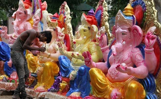 Devotees In Jammu and Kashmir's Poonch Gear Up To Welcome Lord Ganesha