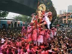 For Ganesh Visarjan, Choppers, Drones Keep An Eye On Mumbai