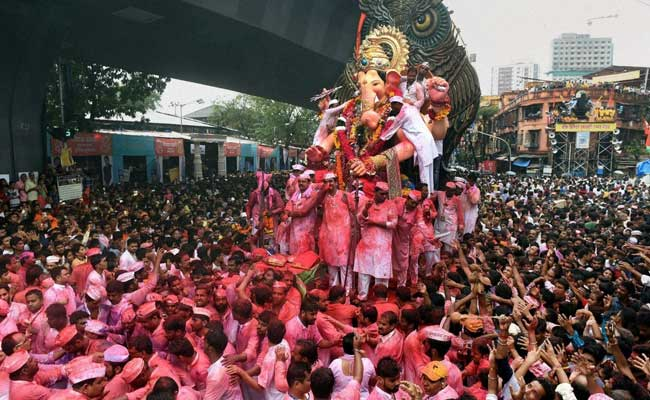 For Ganesh Immersion, 5,000 CCTVs, Drones Keep Eye On Mumbai