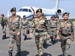 सेना प्रमुख दलबीर सिंह सुहाग ने कश्मीर में सुरक्षा हालात का लिया जायजा