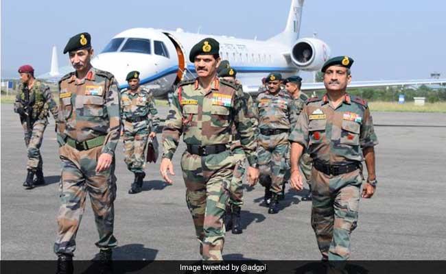 Army Chief General Dalbir Singh Reviews Situation In Kashmir