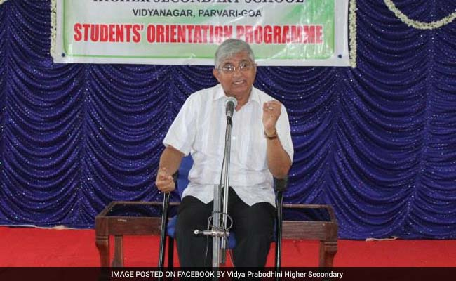 Ex RSS Goa Chief Subhash Velingkar Blames Parrikar, Gadkari For Sacking