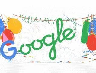 गूगल आज मना रहा है 18वां जन्मदिन, बनाया रंग-बिरंगा डूडल