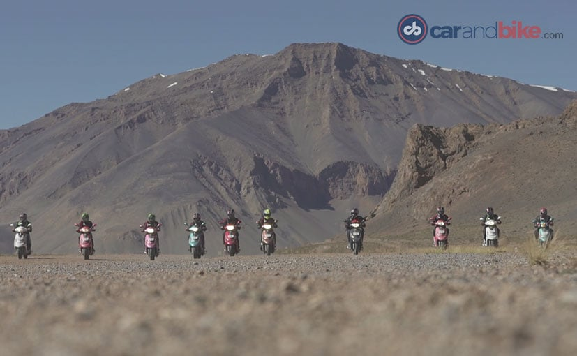 Himalayan Highs: The 110cc TVS Scooty Zest Rides Its Way Into The Record Books
