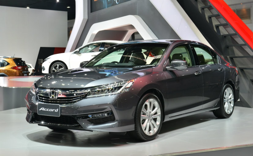 honda plans to import accord hybrid against orders ndtv carandbike. Black Bedroom Furniture Sets. Home Design Ideas