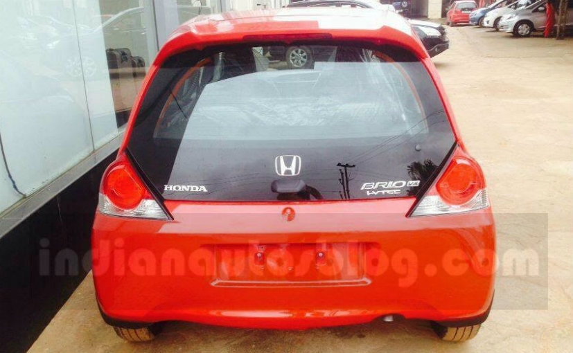 Honda Brio Facelift- Rear