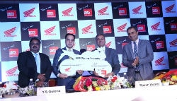 Honda Two Wheelers Ties Up With HDFC Ergo