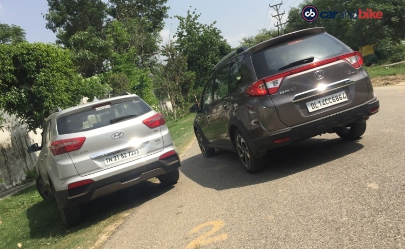 Hyundai Creta and Honda BR-V - Rear