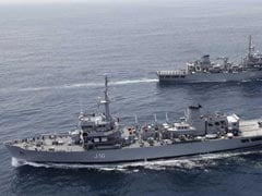 India, Singapore Navies Head Home After South China Sea War Games