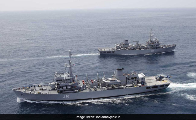 India, Singapore Navies Begin Mega Exercise In South China Sea