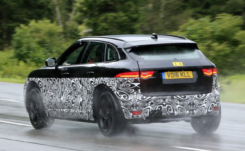 jaguar j pace spotted testing in europe ndtv carandbike. Black Bedroom Furniture Sets. Home Design Ideas