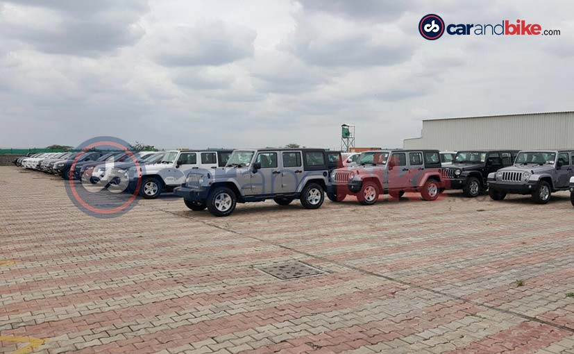 jeep wranglers at the plant