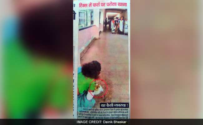 Patient Served Meal On Floor In Ranchi Hospital, Was Told 'No Plates'