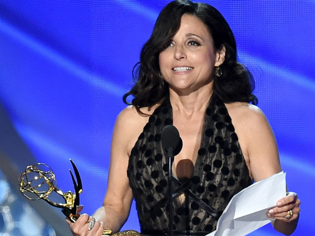 Emmy 2016: Julia Louis-Dreyfus Remembered Father in Emotional Speech