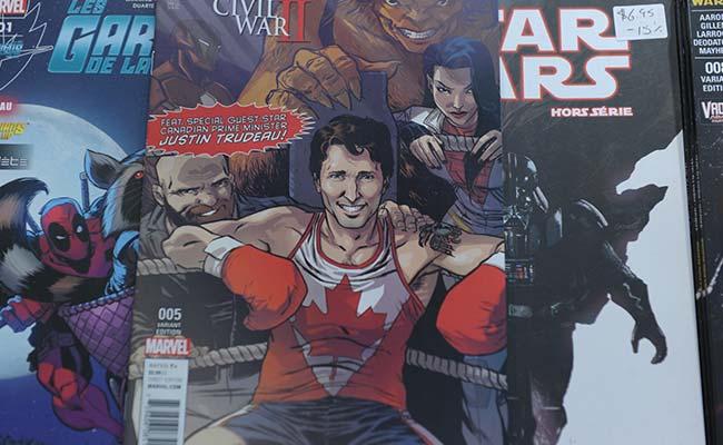 Justin Trudeau -- Marvel's Latest Superhero