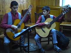 Music School Hits Right Note For Kabul's Street Children