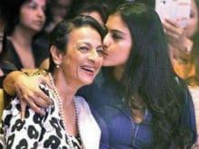 Kajol Joins Facebook. Wishes Mom Tanuja For Birthday