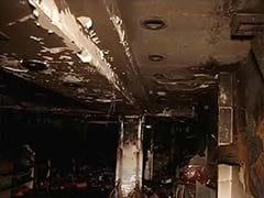 Property Worth Lakhs Destroyed In Fire At Delhi's Kamla Nagar Market