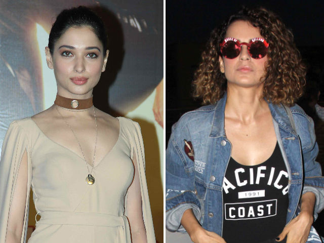 'Kangana Ranaut is Outspoken, She Inspires Many,' Says Tamannaah Bhatia
