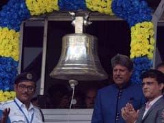 INDvsNZ : लॉर्ड्स की तरह कपिल देव ने कोलकाता के ईडन गार्डन में बजाई खास घंटी