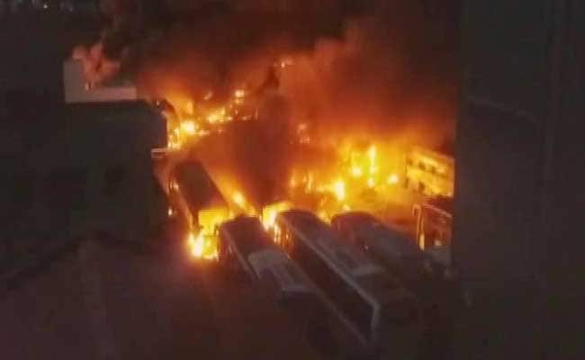 1 Dead In Police Firing In Bengaluru During Protests Over Cauvery Dispute