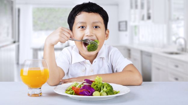 Healthy Diet Develops Better Reading Skills In Children