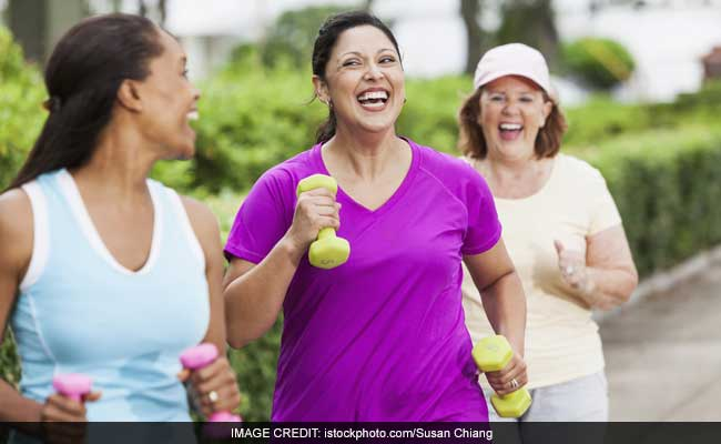 Laughter With Exercise May Boost Health In Older Adults