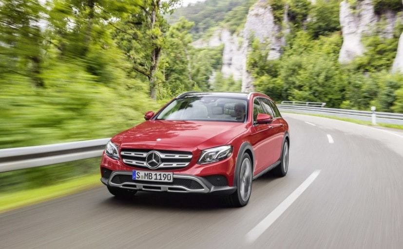 The Mercedes-Benz E-Class All-Terrain will get a BS6 compliant 2.0-litre diesel engine