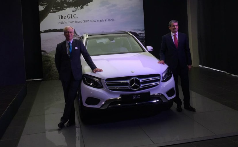 Mercedes-Benz Rolls Out Made-In-India GLC SUV; Prices Start At ₹ 47.90 lakh