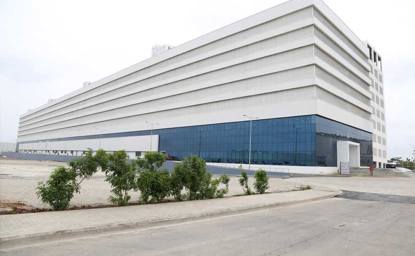 mercedes benz india opens the largest parts warehouse by a